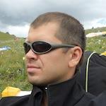 Ассистент команды X-Alps 2011 RUS Антон Поляков